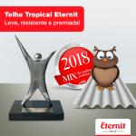 A Telha Tropical está no topo do 22º Prêmio Melhor Produto do Ano