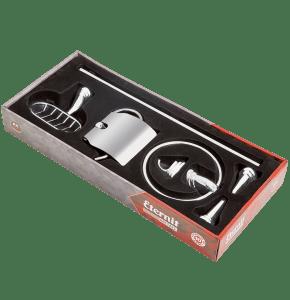 Kit de Acessórios para Banheiro – Linha Piemonte