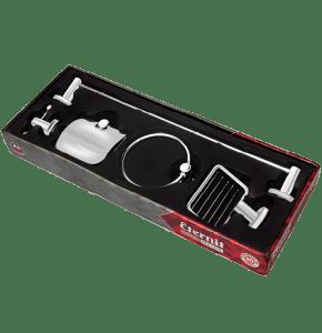 Kit de Acessórios para Banheiro – Linha Alina