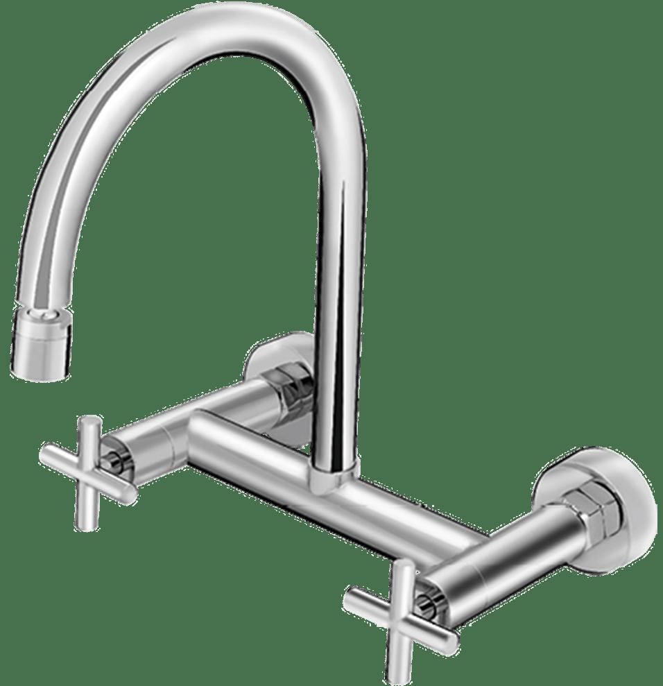 Misturador de Parede para Cozinha 1258-E64 – Linha Toulosse