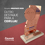 Pesquisa ANAMACO 2020 mantém a Eternit sempre presente